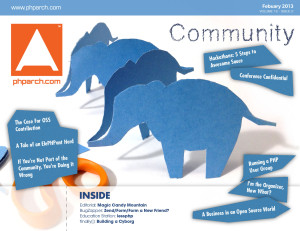 php|architect February 2013 - Community