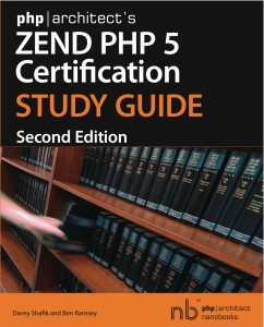 Book cover for php|architect's Zend PHP 5 Certification Study Guide, 2nd Edition