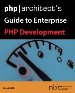 Book cover for php|architect's Guide to Enterprise PHP Development