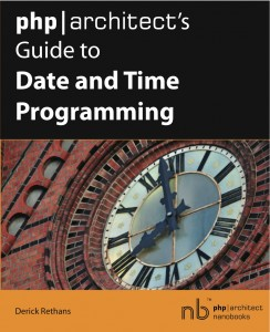 Book cover for php|architect's Guide to Date and Time Programming