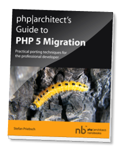 Book cover for Guide to PHP 5 Migration