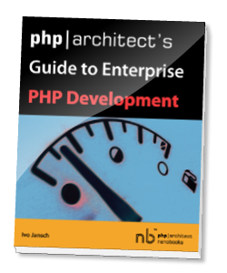 Book cover for Guide to Enterprise PHP Development