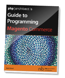 Book cover for php|architect's Guide to Programming with Magento
