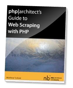 Book cover for Guide to Web Scraping with PHP