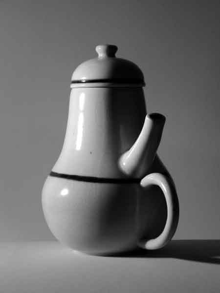 Photograph by Don Norman of his personal coffeepot.