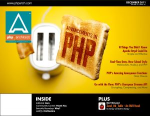 php|architect December 2011 Cover