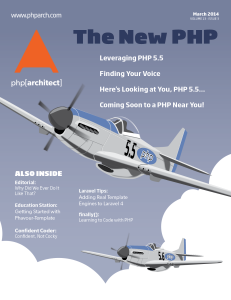 php[architect] — March 2014