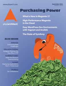 September 2014 Magazine Issue cover