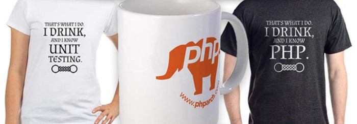 PHP themed shirts, mugs, and more