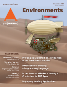 November 2014 Magazine Issue cover