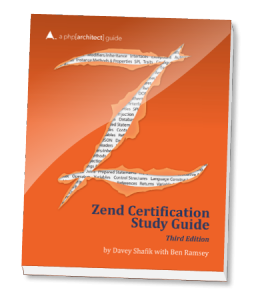 Book cover for Zend PHP 5 Certification Study Guide, 3rd Edition