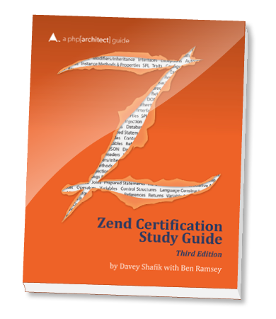 Zend PHP 5 Certification Study Guide Cover