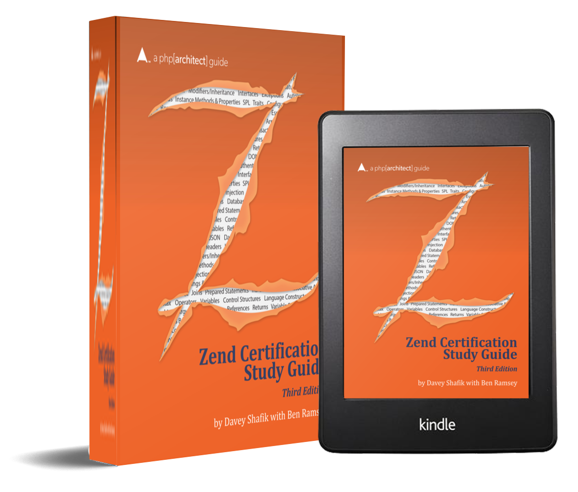 zend certification third edition study guide