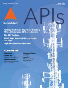 June 2015 Magazine Issue cover