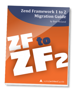 Book cover for Zend Framework 1 to 2 Migration Guide
