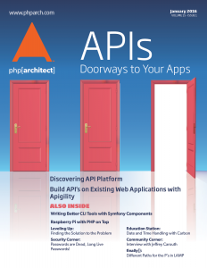 January 2016 Cover Doorways to Your Apps
