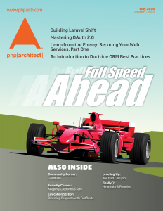 Full Speed Ahead magazine cover featuring an F1 racing car