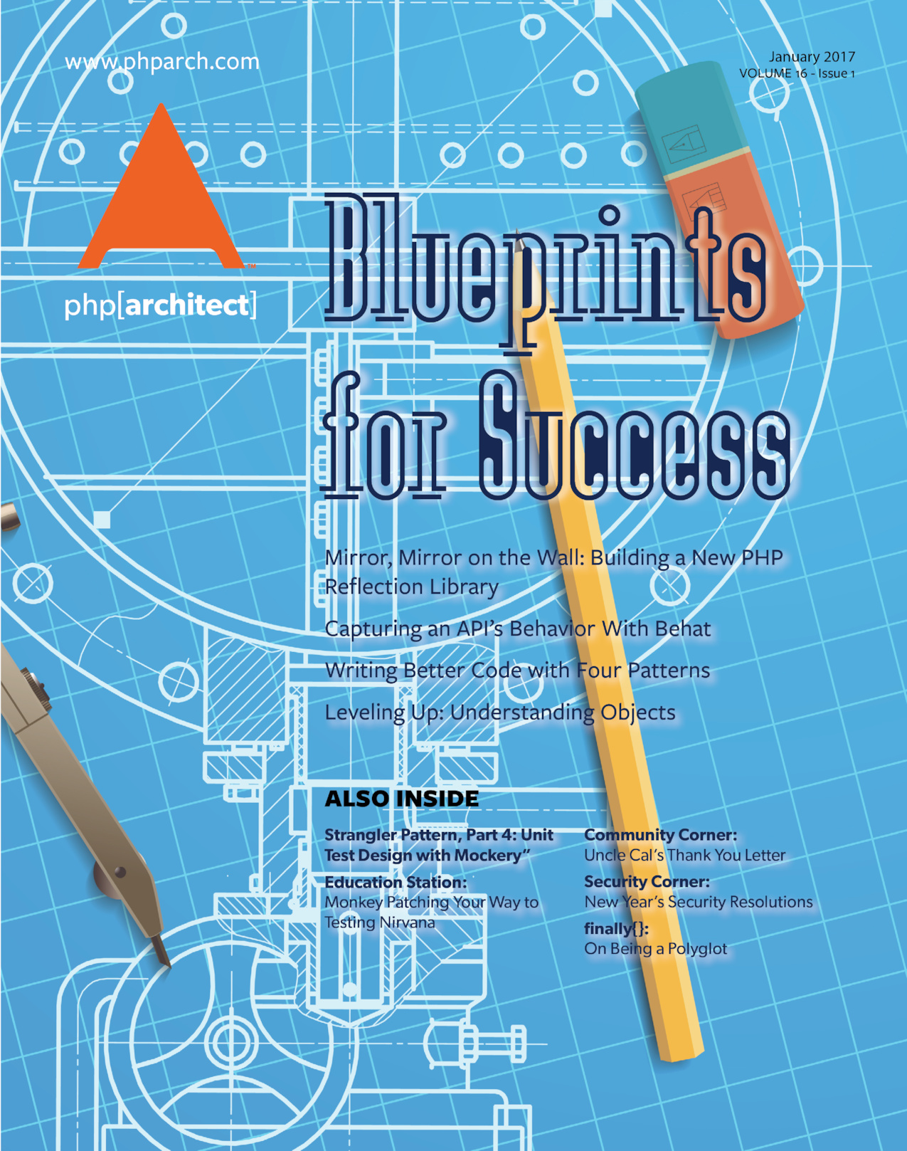 Phparchitect magazine january 2017 blueprints for success malvernweather Gallery