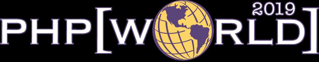 PHP world 2019 logo
