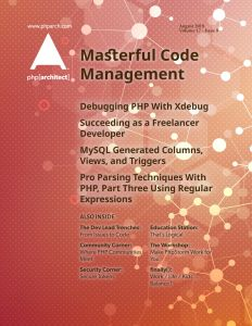 Masterful Code Management - August 2018 | php[architect]