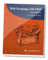 Web Scraping with PHP book cover
